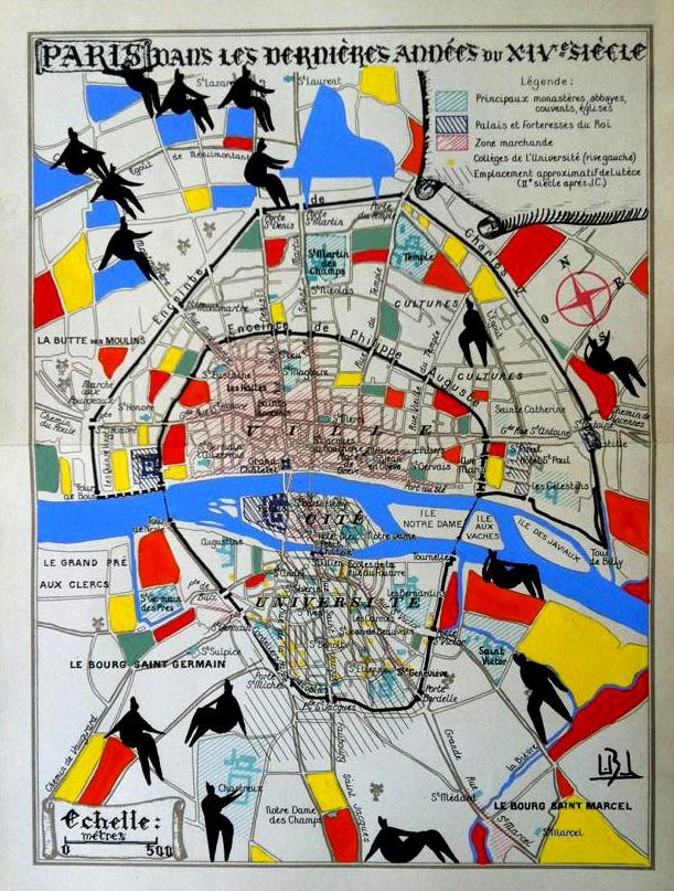 Paris dans les dernières années du XVème siècle