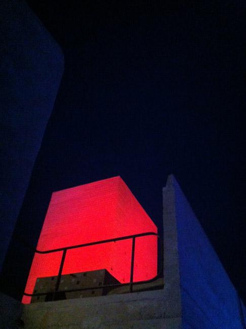 Buren au Corbusier