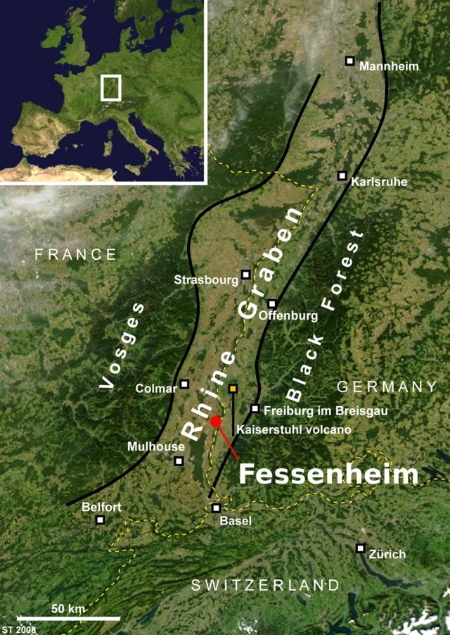 Carte Fessenheim