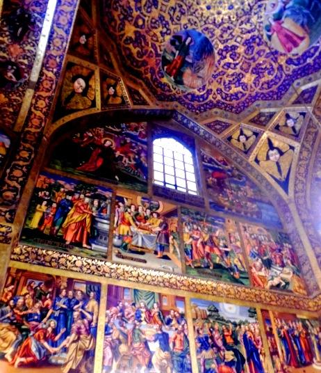 Fresques de la cathédrale arménienne Saint-Joseph d'Arimathie, Ispahan