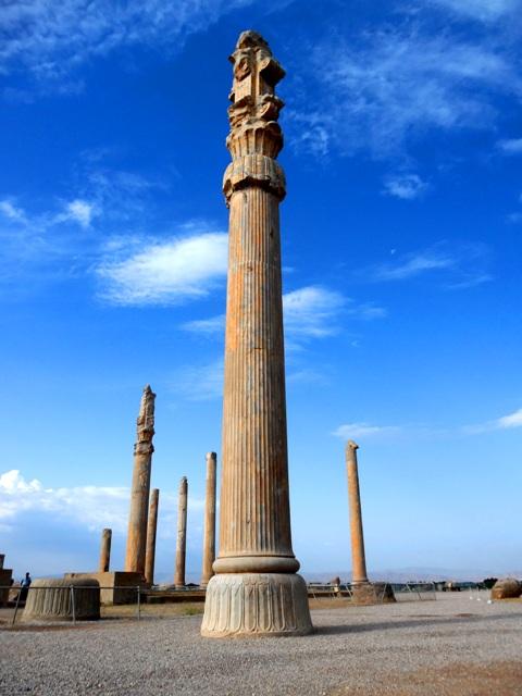 Colonnes de la salle des Audiences, Persépolis