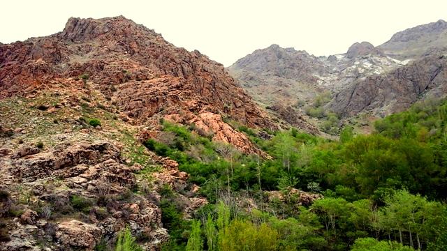 Les hauteurs de Darband