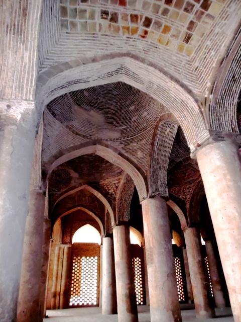 Salle de prière de la mosquée du Vendredi, Ispahan
