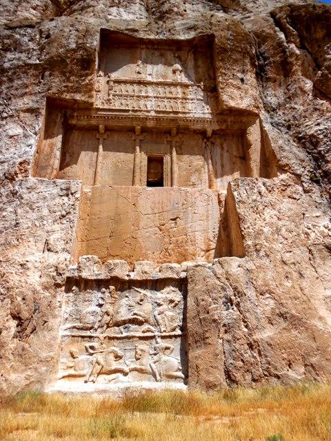 Tombeau de Darius Ier le Grand, Naqch-e Rostam