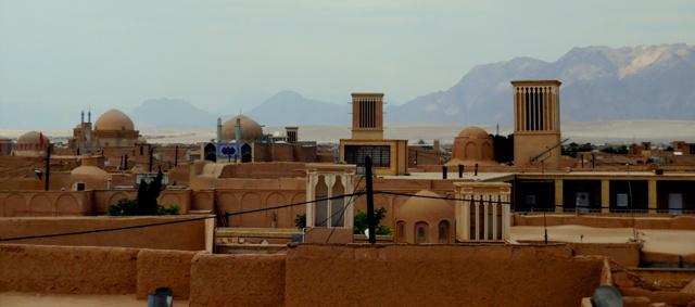 Tours à vent, Yazd