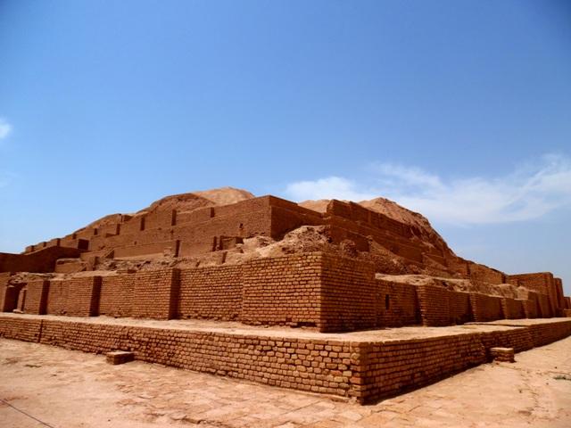 Ziggourat de Choqâ Zanbil