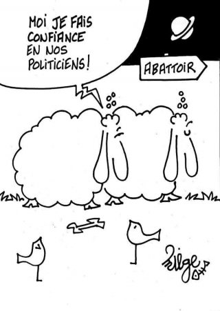Confiance en nos politiciens