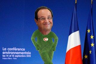 Face à la dette,<br>Hollande fait la taxe verte