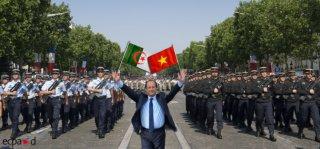 Hollande célèbre nos défaites