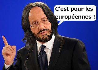 L'Eurovision donne des idées à Hollande