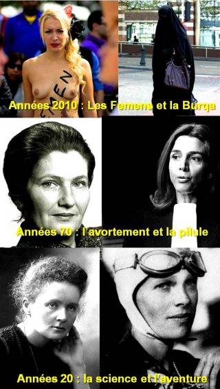 Journée de la femme à travers les âges
