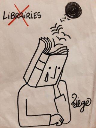 Librairies confinées