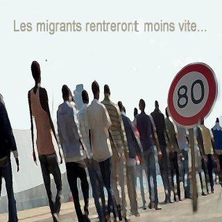 Loi asile et immigration: le gouvernement ralentit