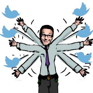Ruquier, épouvantail à tweet