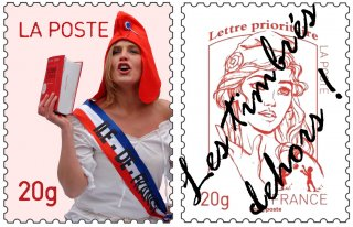 Timbres: on lèche rien!