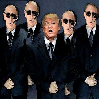 Trump et ses bodyguards