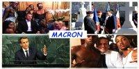 Macron: le poids des mots, le choc des photos