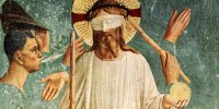 Le Christ aux outrages de Fra Angelico
