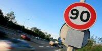 La vitesse bientôt limitée à 80 km/h sur route