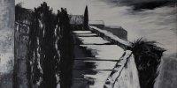 Alain Delorme peint la lumière en noir et blanc