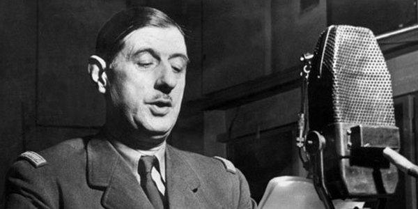 De gaulle est mort? Vive de Gaulle!