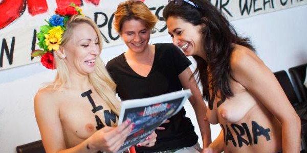 Ô Femen, je vous aime