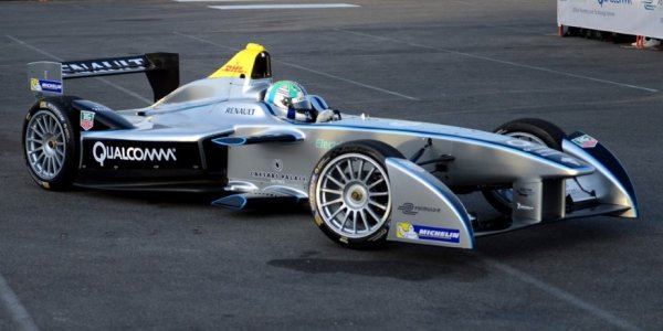 Formule E: une course électrique