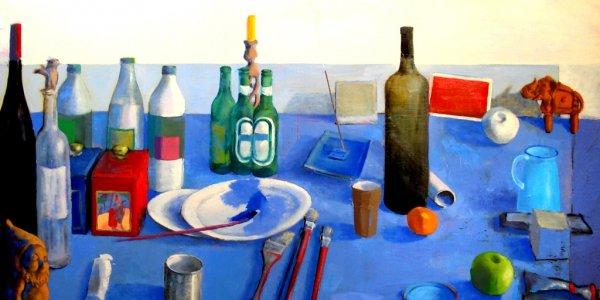 Entretien avec Mathieu Iquel, peintre