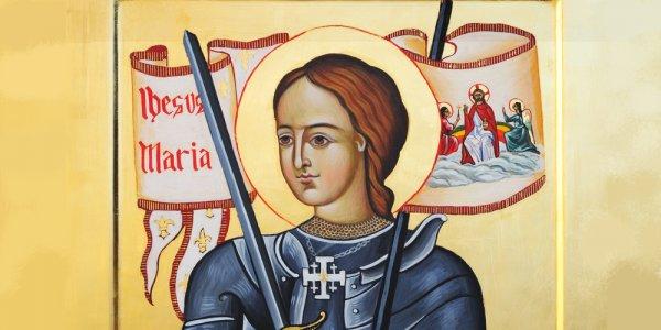 Jeanne d'Arc, guerrière et mystique