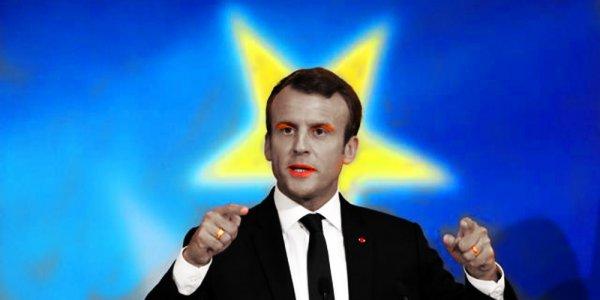 Macron rêve d'une Europe trans