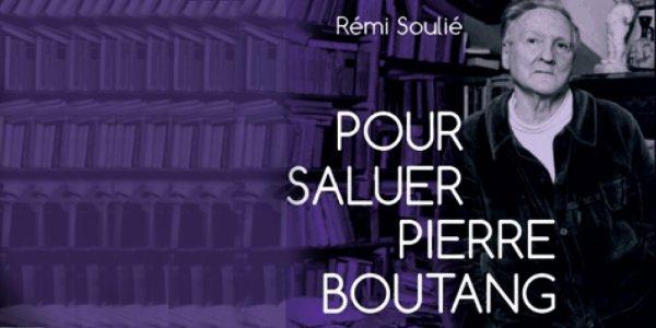 Soulié salue Boutang!