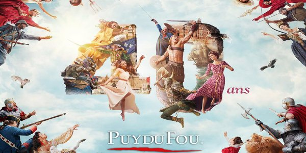 le puy du fou a 40 ans le secret d 39 une jeunesse ternelle. Black Bedroom Furniture Sets. Home Design Ideas