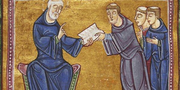 Saint Benoît: Est plus fort celui qui aime plus