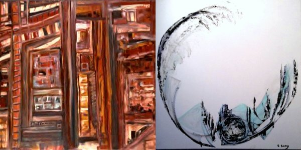 Rencontre avec Sylvie Samy, peintre