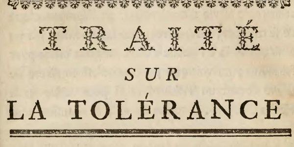 Tyrannies du temps: la tolérance