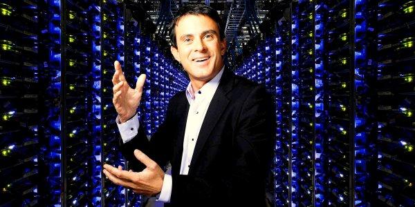 Valls, cyberflic et cerbère de la République