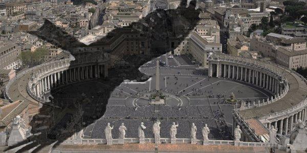L'ombre de l'aigle noir couvrait Rome en diapante