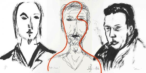 visages de l'écriture